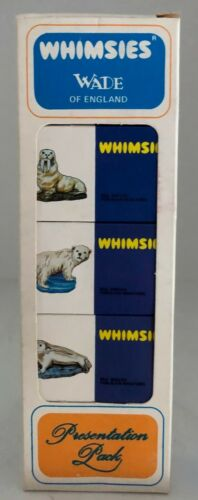 OLD WADE WHIMSIES (ENGLAND) - BOXED SET OF 5 - IN MINT / NEW CONDITION set 1/10