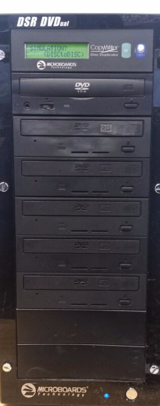 Microboards CopyWriter DVD PRM-516 1 to 5 DVD Duplicator