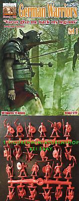 1:72 FIGUREN 009 Germanic Warriors Set 1Varus give me back my legions - LINEAR-A