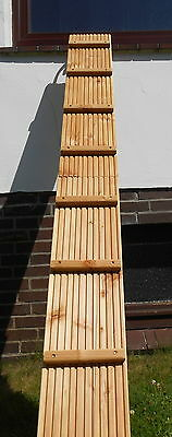 Sehr stabile Katzenleiter/ Katzentreppe ! 21,5 cm Trittfläche !  Douglasie Holz