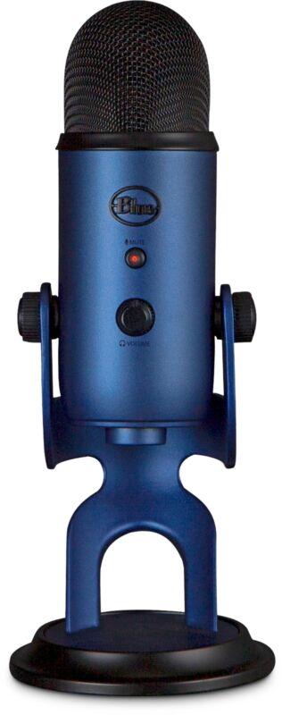Blue Microphones - Yeti USB Multi-Pattern Electret Condenser Microphone