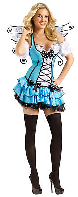 Turquoise Fairy Adult Womens Costume Sexy Tutu Skirt Theme Party - Fairy Themed Halloween Party