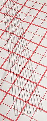 5 Pcs 316 X 316 X 12 Inch Long Square Clear Acrylic Plexiglass Lucite Rod