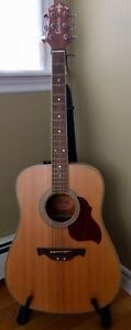 Crafter D6/N acoustic guitar