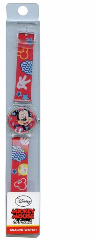 Licensed Mickey Mouse Portrait face analog watch-Mickey Mouse Watch-Brand new!