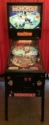 Stern The Monopoly Pinball Machine