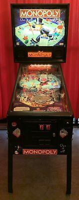 Stern The Monopoly Pinball Machine