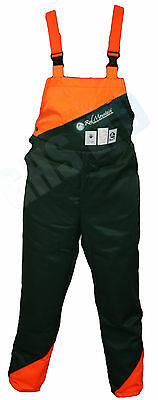Chainsaw Safety Forestry Bib & Brace Trousers Suit HUSQVARNA Chainsaw User