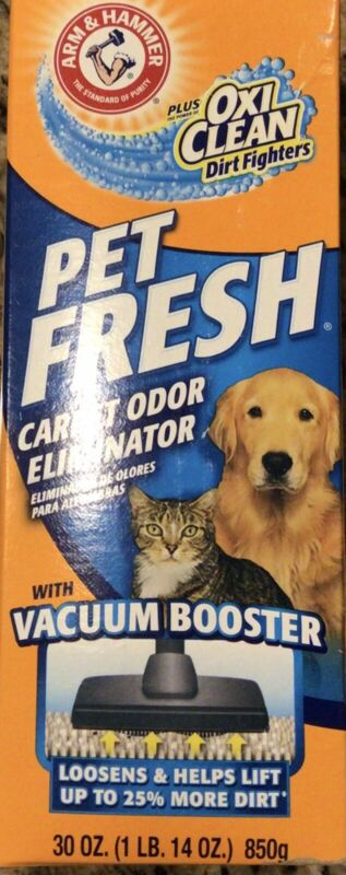 Arm & Hammer PET FRESH 30 oz Carpet Odor Eliminator Plus Oxi-Clean Dirt Fighter