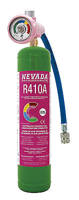 R410a DIY 1lt. - Zylinder inkl. DIY Manometer, 7,51.-€/100gr. NEU