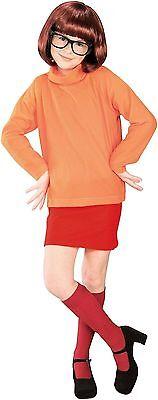 VELMA SCOOBY DOO CHILD GIRLS KIDS HALLOWEEN COSTUME  NEW  - Velma Costume Child