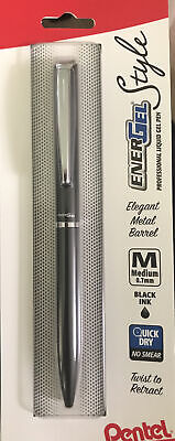 Pentel Energel Style Pen Quick Dry 0.7mm New