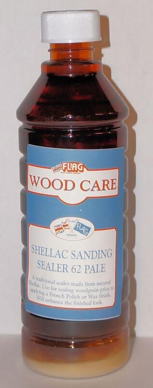 Flag Classic Range Shellac Sanding Sealer ~ 16 FL OZ / 500 ML