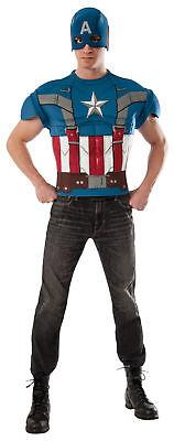 Captain America Top Winter Soldat Film 2 Erwachsene - Captain America Film Kostüm