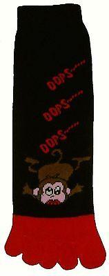 (Opps Monkey (TS005) Adult Toe Socks New Gift Fun Unique Cute )