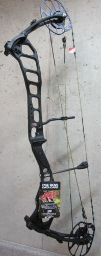 """New 2021 PSE Drive NXT 45 to 70lb Compound Bow, RH, DL 24"""" to 31""""-Color Black"""