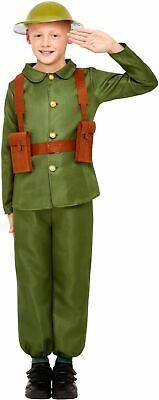 Boys WW1 Soldier Costume Kids School Book Week 1910 1940 World War WW2 outfit - Ww2 Costumes Kids
