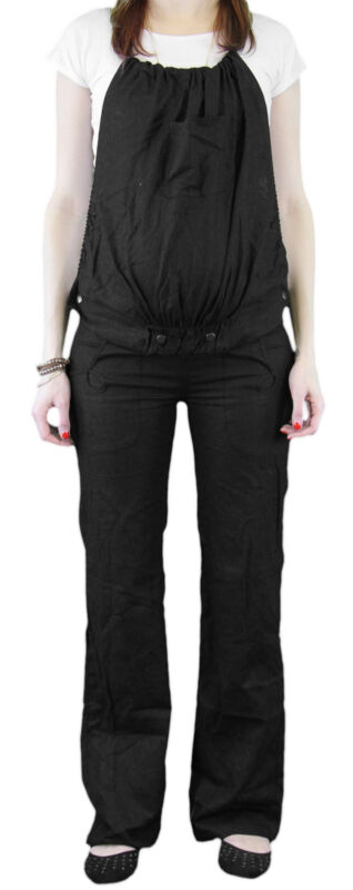 9 Fashion Maternity Rico Black Convertible Trouser Sz S $125 NWT