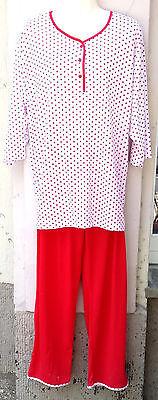 Süßer leichter Schlafanzug/Pyjama Baumwolle dreiviertel Arm, lange Hose