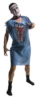 Zombie Patient Hospital Doctor Adult Gown Walking Dead Fancy Dress Up Halloween (Doctor Patient Halloween Costumes)