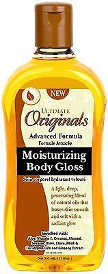 - Ultimate Originals Moisturizing Body Gloss 12 oz
