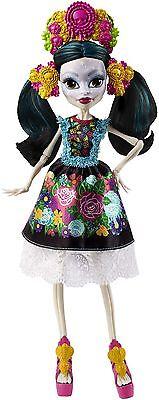Monster High Skelita Calaveras ADULT COLLECTOR DOLL Sammlerpuppe OVP (Monster High Calavera Doll)