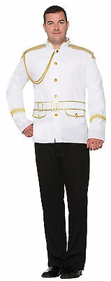 Adult Prince Charming Jacket Costume Standard - Adult Prince Charming