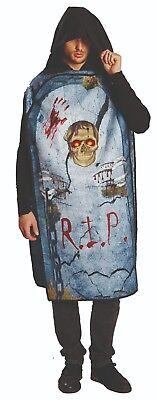 Mottoland 119164 - Grabstein - grave stone - Halloween Kostüm