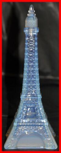 Sabino Opalescent Glass Perfume Bottle Model Eiffel Tower