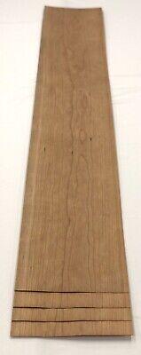 Cherry Wood Veneer 4 Sheets 40 X 7 7.5 Sq Ft