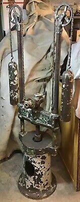 1885 W F John Barnes Hit Miss Steam Engine Ford Model A T Old Auto Screw Press