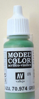 Vallejo Model Color Paint  17Ml  Green Sky 70974  M076