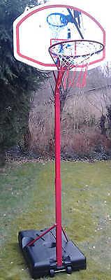 Basketballkorb mit Ständer 305 cm - stufenlos höhenverstellbar - Korbhöhe 260cm