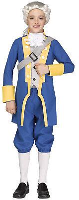 George Washington Colonial America Historical School Play Children's Costume](Kids George Washington Costume)
