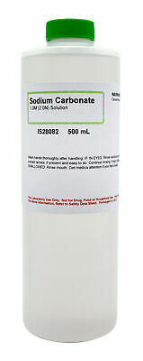 Sodium Carbonate 1m 500ml - The Curated Chemical Collection