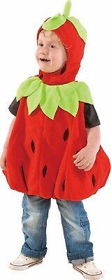 Mottoland 116018 - Baby Erdbeere * Kostüm * Karneval * Baby Strawberry Gr. 98
