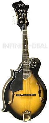 Oscar Schmidt OM40LH Left Handed Acoustic/Electric F-STYLE Mandolin Sunburst