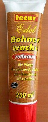 1l/17,76€    Bohnerwachs Bodenpflege Holzpflege rotbraun 250ml bohnern Holz