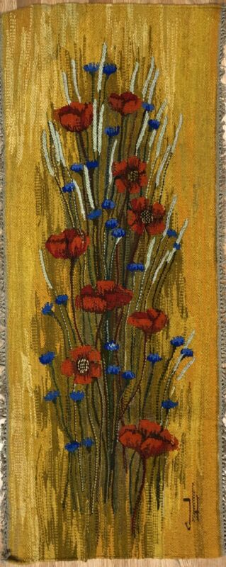 Perfect Polish - Antique Jh Textile - Janusz Hankowski Needlepoint - 2 X 4.11 Ft
