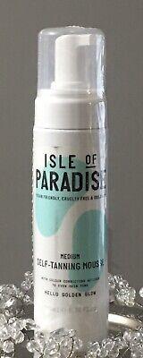 Isle of Paradise Self- Tanning Mousse 6.76 oz Medium Brand New & Sealed