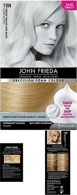 John Frieda Precision Foam Colour Hair Dye, Number Extra Light Natural Blonde
