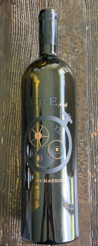 Bure Family Duration Wine Bottle Empty 1.5L Numbered Etched RARE! Collectible