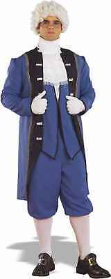 Colonial Costume George Washington Town Crier Adult X-Large Jacket Coat Knicker](Costume Knickers)