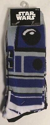 Star Wars R2 D2 Astro Droid Socks Mens 6 12 2 Pair Empire Strikes Back Jedi Esb