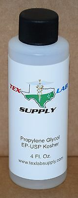Glycol Supply (Tex Lab Supply Propylene Glycol (PG) EP-USP/Kosher/FCC 4 Fl.)