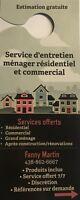 Service d'entretien ménager résidentiel et commercial