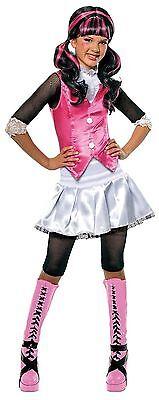 Mädchen Kostüme Monster High (DRACULAURA -  Monster High Mädchen Kostüm Gr. M & L Halloween - Mädchenkostüm)