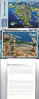 1980's 16 View Colour Souvenir Lettercard Of Croatia / Yugoslavia -  - ebay.co.uk