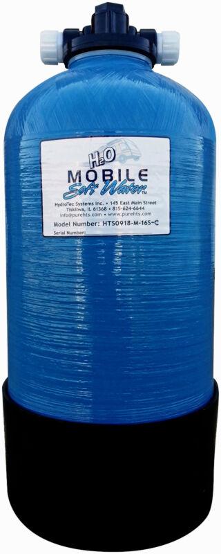 Mobile Soft Water 16000gr Portable Manual Softener,W/salt port-Eco style-RV-Boat