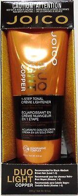 Joico Duo Light Copper 1-Step Tonal Creme Lightener - 8.5 oz. New in Box